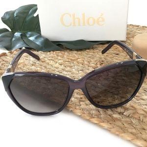 Host pick! Chloe Cat Eye blue Smokey Sunglasses